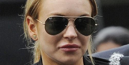 Lindsay Lohan se pasea por Milán con Philipp Plein
