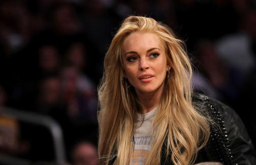 Lindsay Lohan en sesión de fotos para Philipp Plein