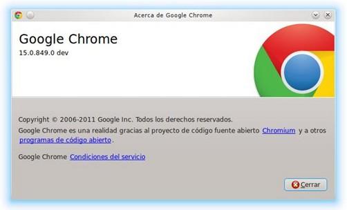 Video: Las novedades más importantes de  Chrome 15 en acción