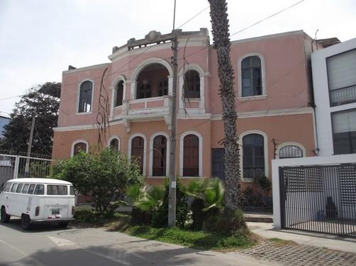 Una casa singular, un monumento histórico... el lugar en que yo vivo