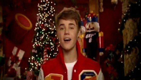 Justin Bieber aparece en el video de la NBA el día de la apertura en Navidad