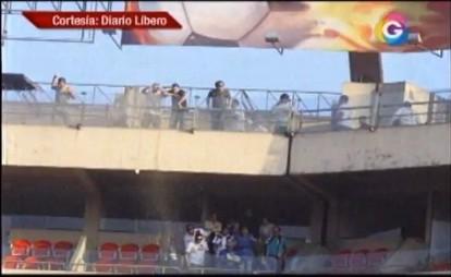 Director de 'Garra Crema' señaló que la policía debió intervenir en los palcos