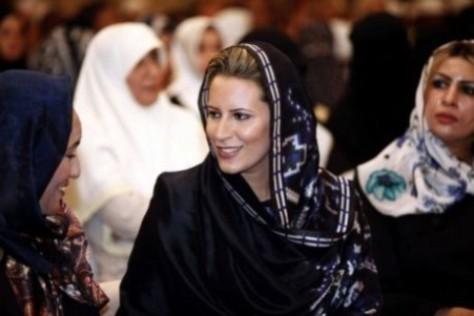 Hija de Gadafi se podría asilar en Venezuela