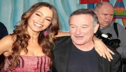 Robin Williams y Sofía Vergara se divierten juntos