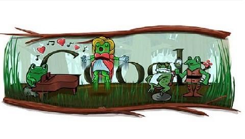 Google celebra con singular 'doodle' año bisiesto y natalicio de Gioachino Rossini