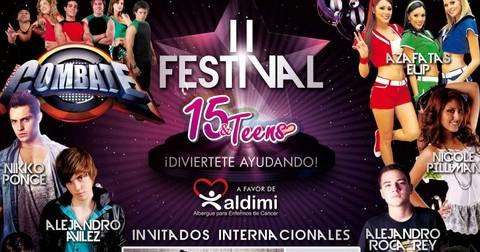Artistas Juveniles participarán en el II Festival 15 & Teens