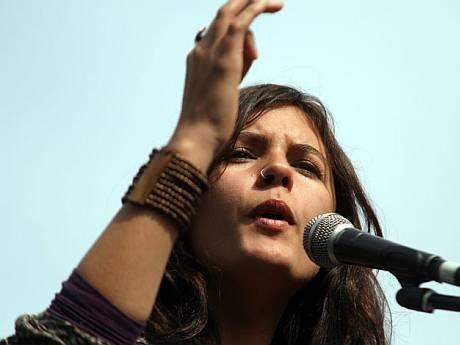 Camila Vallejo no descarta hacer carrera política en Chile