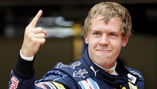 Sebastian Vettel largará primero en GP de Hungría