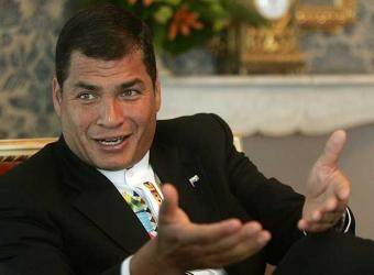 Rafael Correa: 'No me da la gana de investigar a mi hermano'