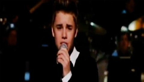 Justin Bieber en el especial por de Michael Buble (video)