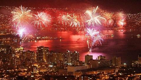 Chile: Valparaíso recibirá el Año Nuevo con un gran espectáculo pirotécnico