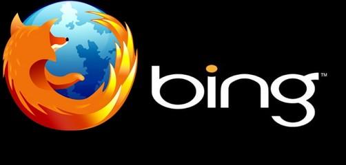Mozilla Firefox ahora funciona con Bing Search