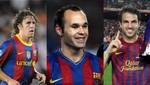 Jugadores del Barcelona enviaron saludos por Año Nuevo a sus hinchas