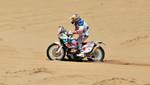 Chileno ganó la primera etapa en motos del Dakar 2012