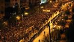 Grecia admitió que está cerca a la bancarrota