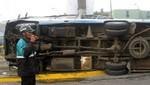Accidente en la Carretera Central en Santa Anita deja ocho personas heridas