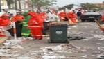 Llegó a su fin la labor de recojo de basura tras el Desfile Militar