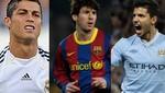 Messi, Ronaldo y Agüero favoritos para llevarse el Balón de Oro