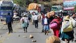 Ica: Mineros artesanales protestan en contra de la minería informal