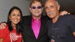 Nadine Heredia se reunió con Elton John