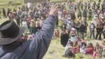 Tres policías resultaron heridos durante protestas anti mineras en Áncash