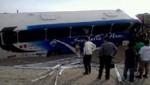 Choque en Panamericana Norte deja 10 heridos
