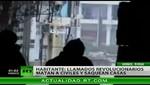 Testigo en Siria: 'Revolucionarios disparan y cortan en pedazos a la gente'