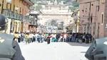 Ayacucho : universitarios y policías sostuvieron enfrentamiento