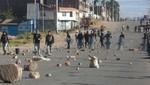 Cajamarca pierde entre 80 y 100 mil dólares en su noveno día de paro