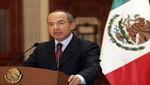 Felipe Calderón: 'México ha vivido tiempos complicados en mi gestión'