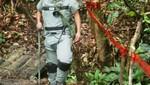 Perú retiró minas antipersonales en frontera con Ecuador