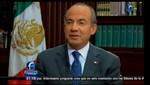 México: Presidente Calderón llama a fortalecer la confianza en el país