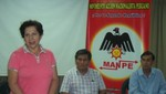 Ex congresista Elizabeth León Minaya se sumó al MANPE