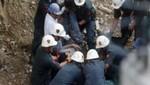 Encuentran el cuerpo de uno de los tres mineros atrapados en mina de Jicamarca