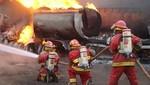 El Agustino: Vehículo se incendia en garaje de una vivienda