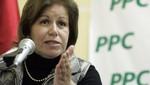 Lourdes Flores destacó manejo económico del gobierno humalista
