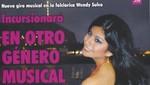 Wendy Sulca incursionará en otro género musical