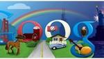 Google festejó el día de EE.UU a través de Twitter
