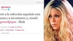 Shakira le desea suerte a Gerard Piqué