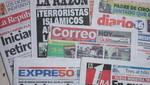 Vea las portadas de los principales diarios peruanos para hoy domingo 4 de diciembre