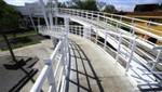 Nuevo puente peatonal en río Chillón fue inaugurado