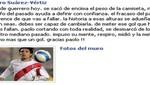 Pedro Suárez Vértiz le da las gracias a Guerrero por gol ante Uruguay