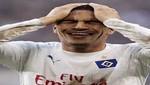 Paolo Guerrero se lesionó en su vuelta a la Bundesliga