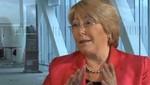 Michelle Bachelet expresó su dolor por víctimas de accidente aéreo