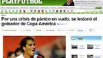 Curiosa lesión de Paolo Guerrero es noticia mundial