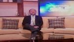 Consultor peruano Luis Lazo: 'De la cadena Univisón, Telefutura y TV Azteca, al Perú'