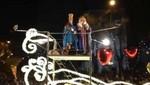 Numerosos famosos en la Cabalgata de Reyes de Madrid