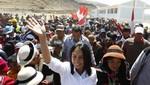Nadine Heredia: 'El gobierno está trabajando para reconstruir Ica'