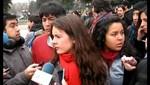 Estudiantes chilenos cesaron protestas en señal de duelo