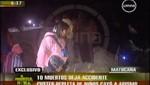 Video: Accidente de tránsito en Matucana deja 11 muertos y 26 heridos